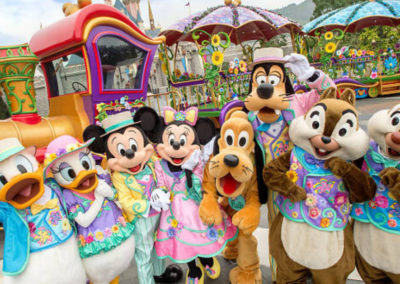 Hong Kong Disneyland Admission Tickets and Tour Package